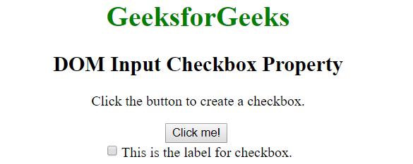 domcheckbox