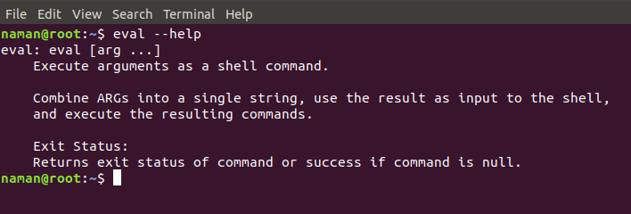eval command in Linux with Examples - GeeksforGeeks