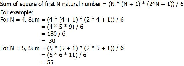 Python Program For Sum Of Squares Of First N Natural Numbers Geeksforgeeks