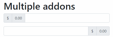 Multiple Addons