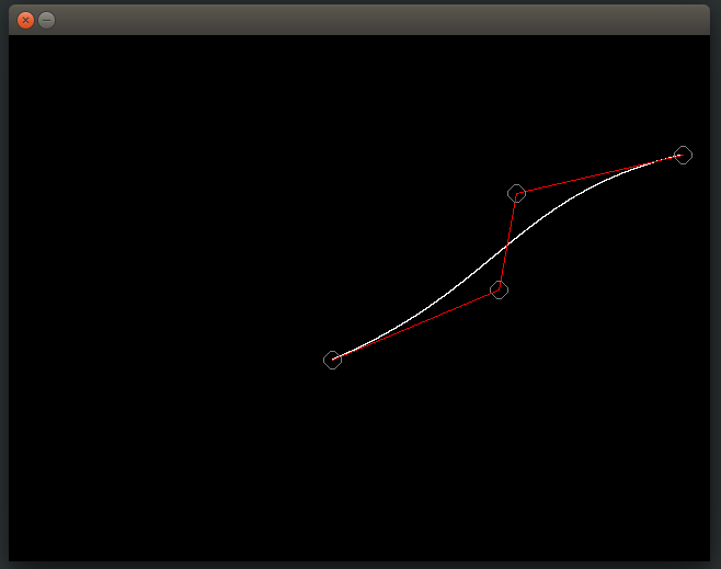 Cubic Bezier Curve Implementation in C - GeeksforGeeks