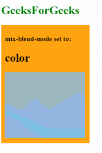 mix-blend-mode: color