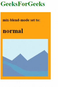 mix-blend-mode: normal