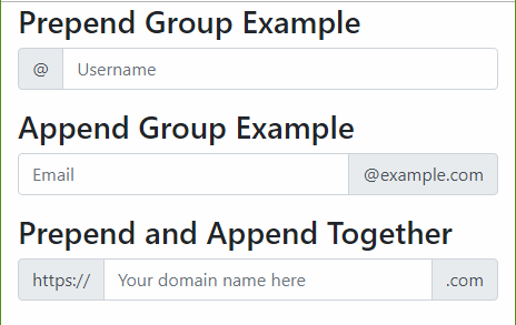 Input Groups in Bootstrap with Examples - GeeksforGeeks