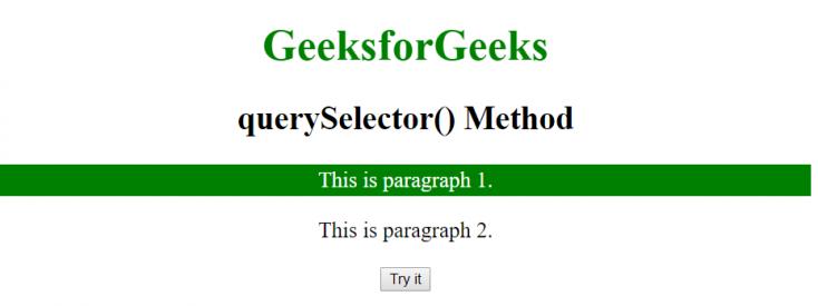 querySelector2
