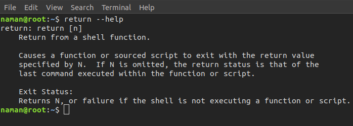 return command in Linux with examples - GeeksforGeeks