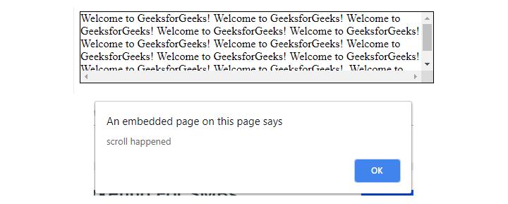scroll method