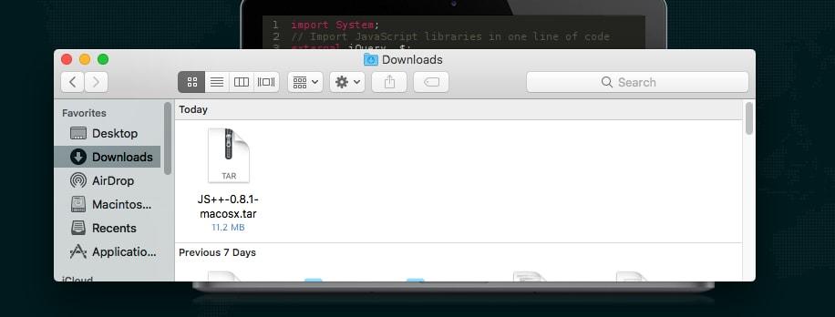 Installing on Mac OS