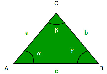 Find all angles of a given triangle - GeeksforGeeks