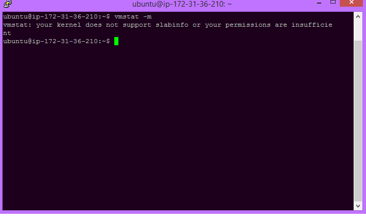 vmstat command in Linux with Examples - GeeksforGeeks