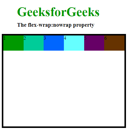 flex-wrap property